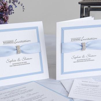 Wedding Invitation - Traditional Fold - Chic