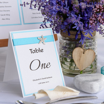 Table Number/Table Name - Coast