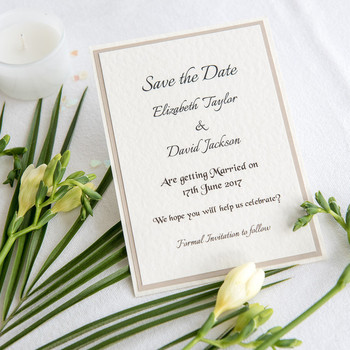 Save the Date - Elegance