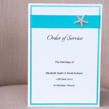 Order of Service - Coast