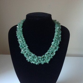 Aventurine - Green Necklace