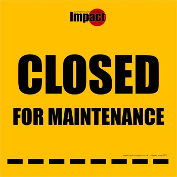 Closed for Maintenance, Hanging