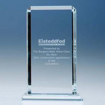 CrystalEdge Clear Echo Award (23cm)