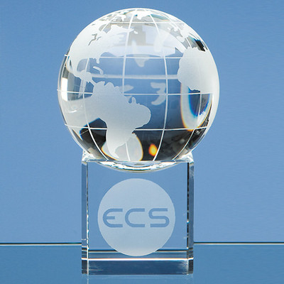 Engraved Glass and Crystal Globe Awards