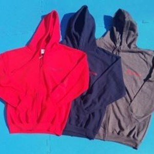 ZIPPED HOODED TOP - ADULT