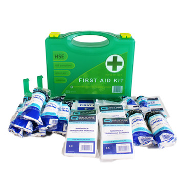 HSE First Aid Kit for 1-10 Person - Premium Box