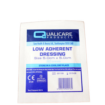 Dressing - Low Adherent  5.0cm x 5.0cm