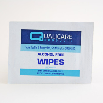 Alcohol Free Wipes Box of 100