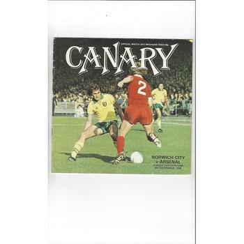 Arsenal Away Football Programmes