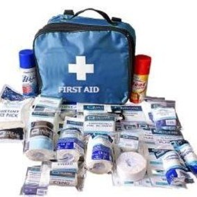 First Aid Kit for Sports Training