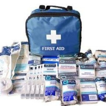 First Aid Kit for Sports Training - Paediatrics