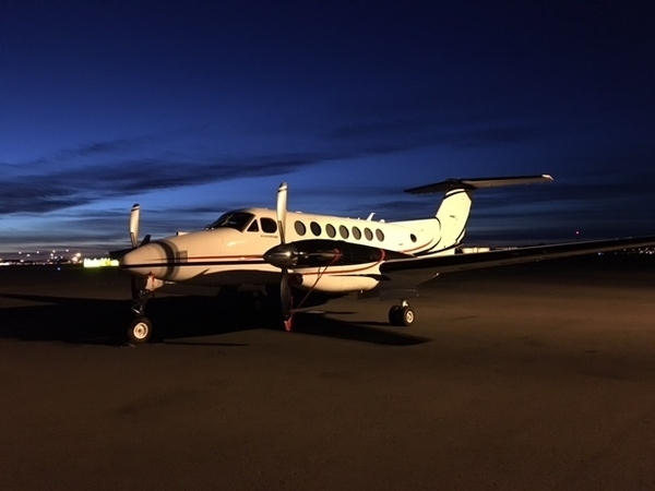 First UK Registered Beechcraft 350i