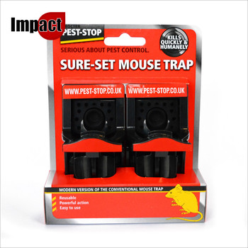 Sure-Set Plastic Mouse Trap