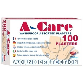 Assorted Washproof Plasters - Box 100