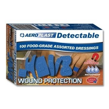 Plasters - Blue Detectable Assorted
