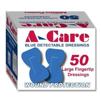 Plasters - Blue Detectable Fingertip Dressing