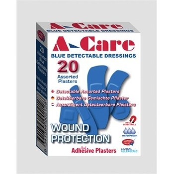 Plasters - Blue Detectable Washproof