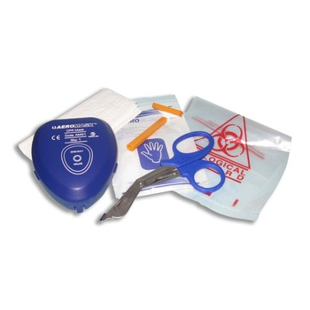 Defibrillator Basic Life Support Kit