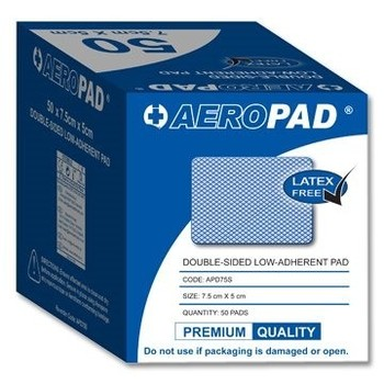 Low Adherent Pad 7.5cm x 5cm - Box 50
