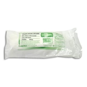 Trauma Dressing with clip - Medium