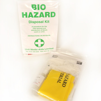 Biohazard Disposal Kit - 1 Application