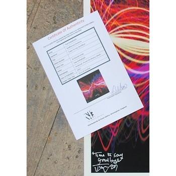 Katherine Jenkins Hand Signed Soundwave - 'Time to Say Goodbye'
