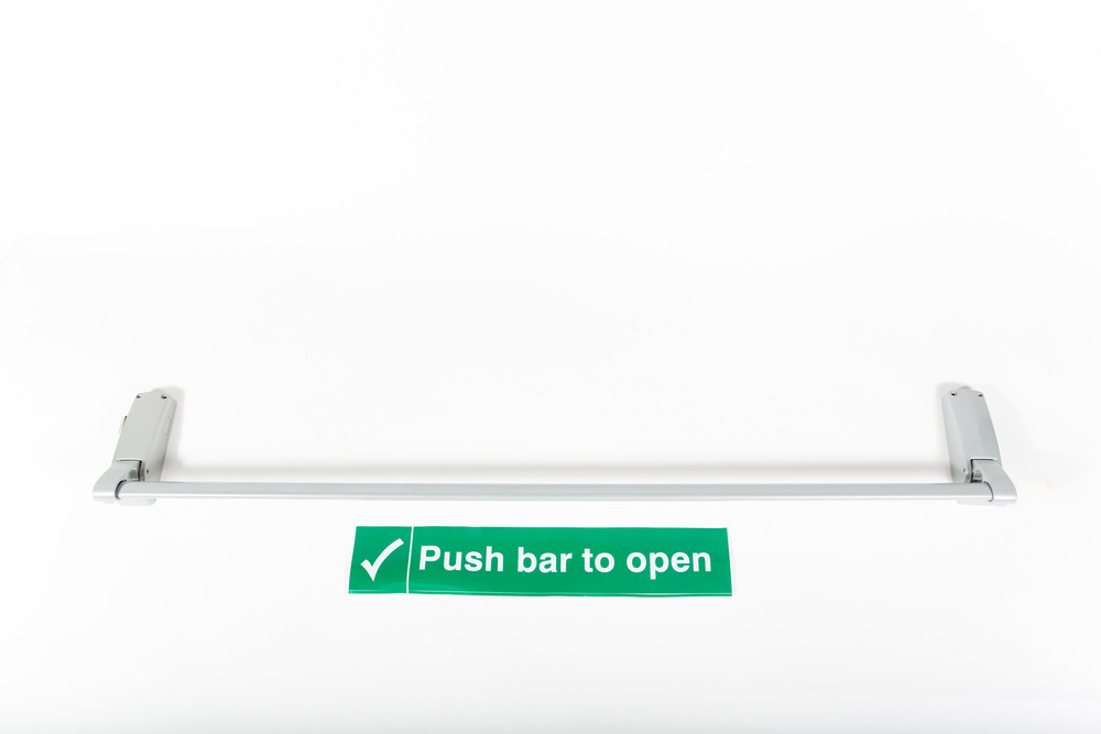 Push Bar Panic Latch Tubular Motors Garage Door Motors