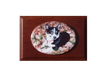 Ceramic Photo Plaque