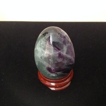 Fluorite Egg