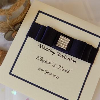 Wedding Invitation - Pocket Fold - Elegance