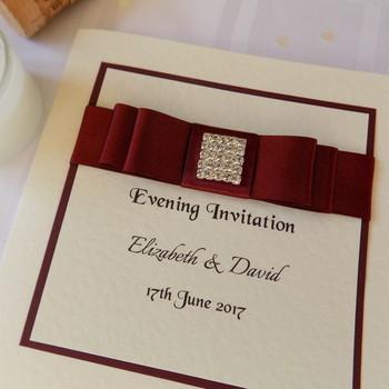 Evening Invitation - Traditional Fold - Elegance