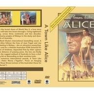 A Town Like Alice.(1983) on DVD Bryan Brown. 3 DVD Set