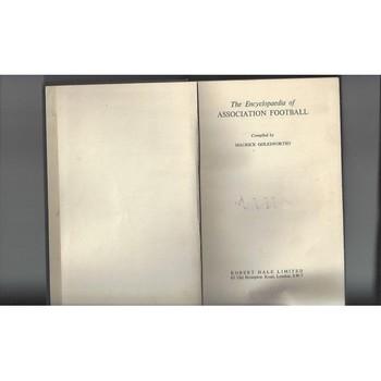 The Encyclopaedia of Association Football M Golesworthy 1961 Football Book
