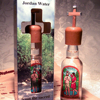 Holy Water from River Jordan