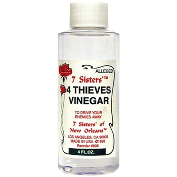 Clear 4 Thieves Vinegar