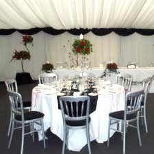 Silver Banqueting Chairs