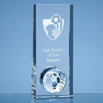 Optical Crystal Football in the Hole Award (20cm)