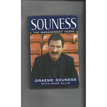 Souness The Management Years 1999 Hardback Edition Football Book