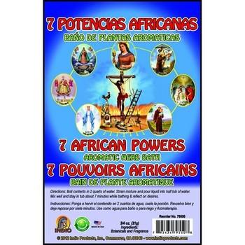 7 African Powers Bath Herbs Envelope