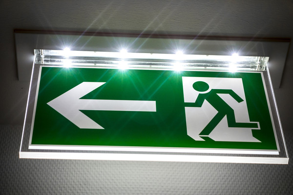 Emergency Light Sign/ Fire Exit sign