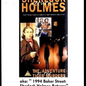 Sherlock Holmes Returns (1993) (TV) Anthony Higgins aka