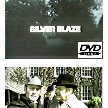 SILVER BLAZE (1977) Made for tv. Stars Christopher Plummer. RARE.