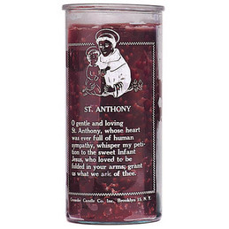 Saint Anthony 14 Day Candle