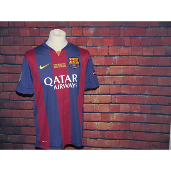 Multi Signed Barcelona Replica Shirt