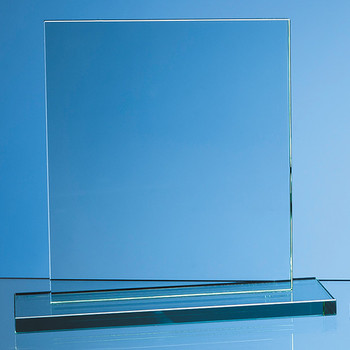 Jade Glass Rectangle Award (20cm x 17.5cm x 12mm)