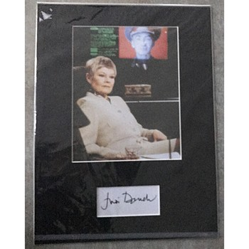 Dame Judi Dench Autograph & Photo