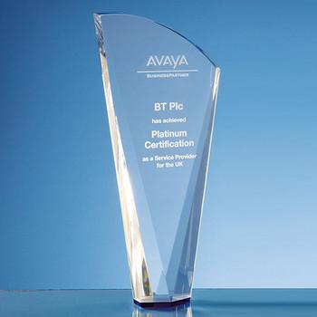 Optical Crystal Facet Shard Award (25.5cm)