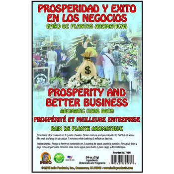 Prosperity & Better Business Bath Herbs Envelope