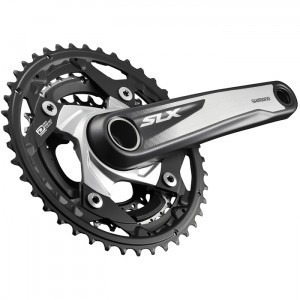 Shimano FC-M670 10-speed SLX chainset - HollowTech II - 42 / 32 / 24T - 170 mm