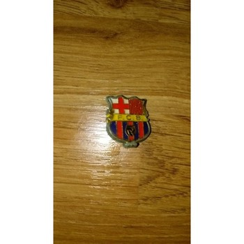 Barcelona Metal Football Badge